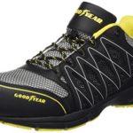 Goodyear GYSHU1502, Herren sportliche Sicherheitsschuhe , Schwarz - Black (Black/Yellow) - Größe: 41 EU (7 UK)